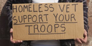 Homeless vet In Need